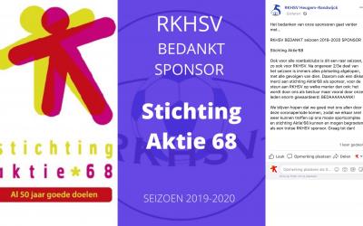 Bedankje RKHSV Heugem-Randwyck